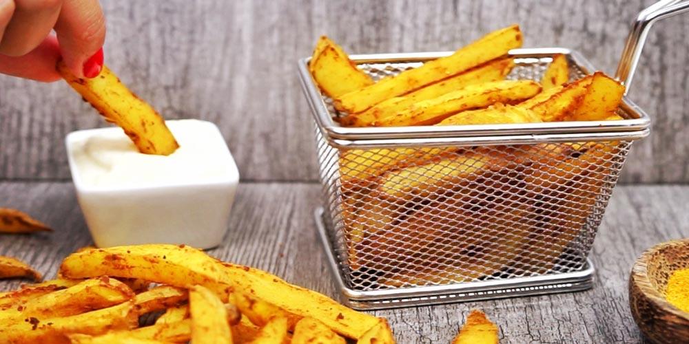 Patatas no fritas al horno