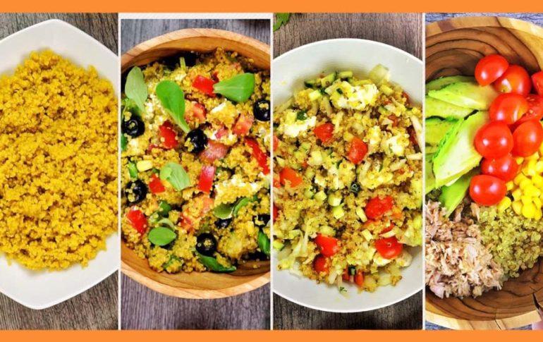 4 Ensaladas con Quinoa y cómo cocerla y prepararla