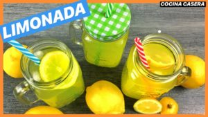 Limonada casera Sin Azúcar. Receta saludable
