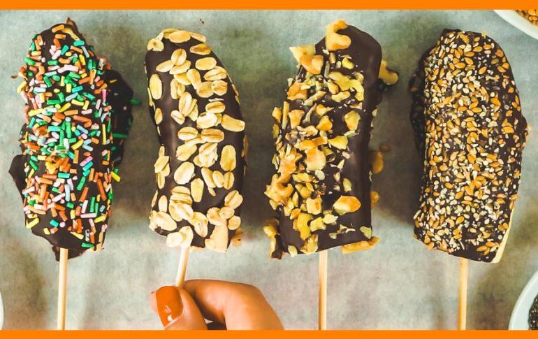 ¡Chocobananas! Recetas de Plátano para Niños ¡Divertidas y Saludables!