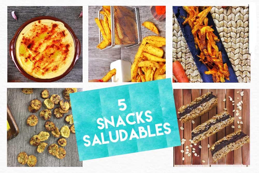 Snacks Saludables para Picar entre Horas para casa, cine, trabajo..