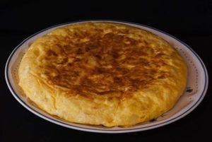 Tortilla payesa. Receta de Girona