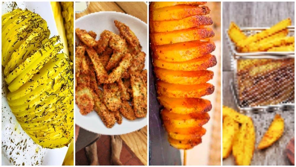 Patatas al Horno: 4 Recetas fáciles y originales