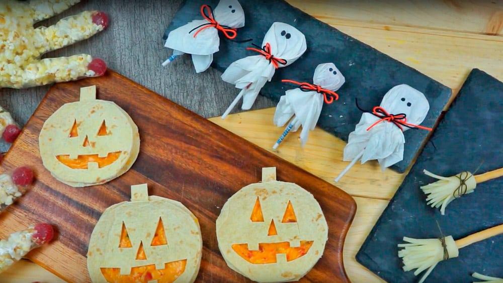 comida halloween recetas ideas