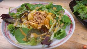 Ensalada Verde con Patatas al Horno