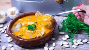 Alubias con Almejas con Cooking Chef