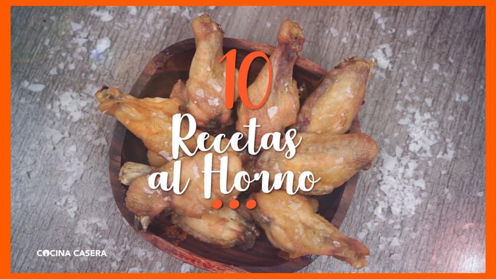 10 Recetas al Horno ¡Fáciles y Deliciosas!