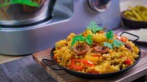 Arroz a la Mexicana con Cooking Chef de Kenwood