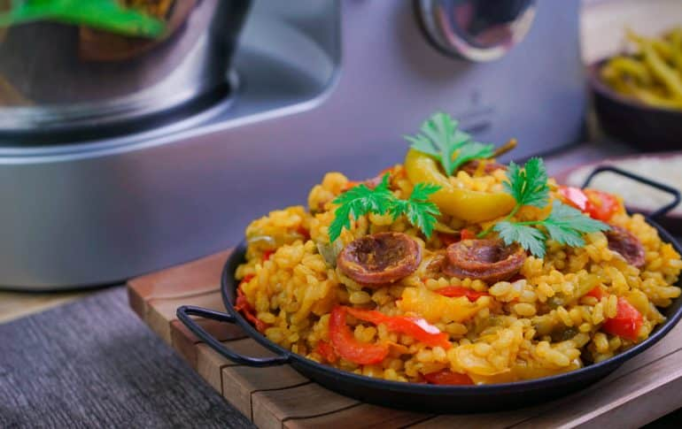Arroz a la Mexicana con Cooking Chef de Kenwood