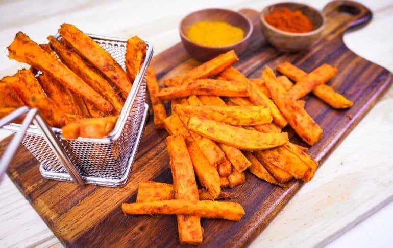 "Patatas ""no fritas"" de Batata al Horno"