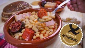 Fabada Asturiana con Compango Asturiano