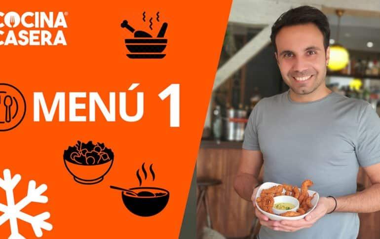 MENÚ SEMANAL SALUDABLE 1 de Enero | Invierno - Cocina Casera