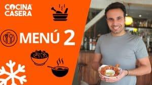 MENÚ SEMANAL SALUDABLE 2 de Enero e Invierno - Cocina Casera