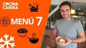 MENÚ SEMANAL SALUDABLE 7 de Febrero e Invierno - Cocina Casera