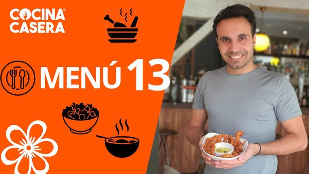 MENÚ SEMANAL SALUDABLE 13 de Marzo y Primavera - Cocina Casera
