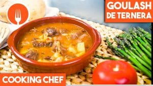 Goulash (guiso de carne) con Cooking Chef