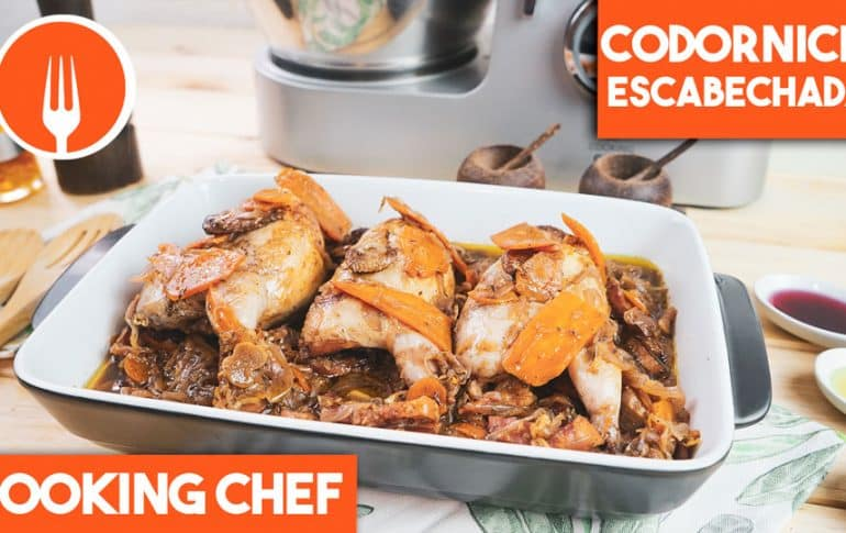 Codornices Escabechadas con Cooking Chef