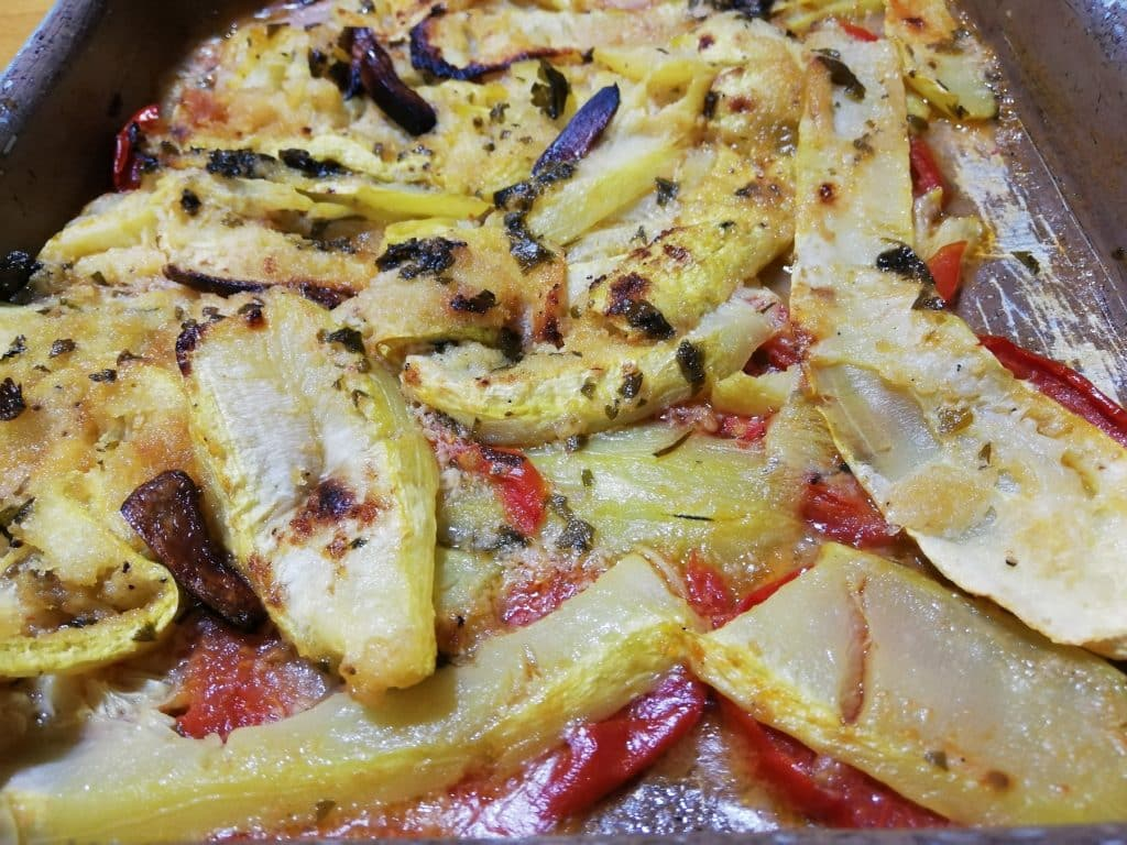 Calabacin al horno