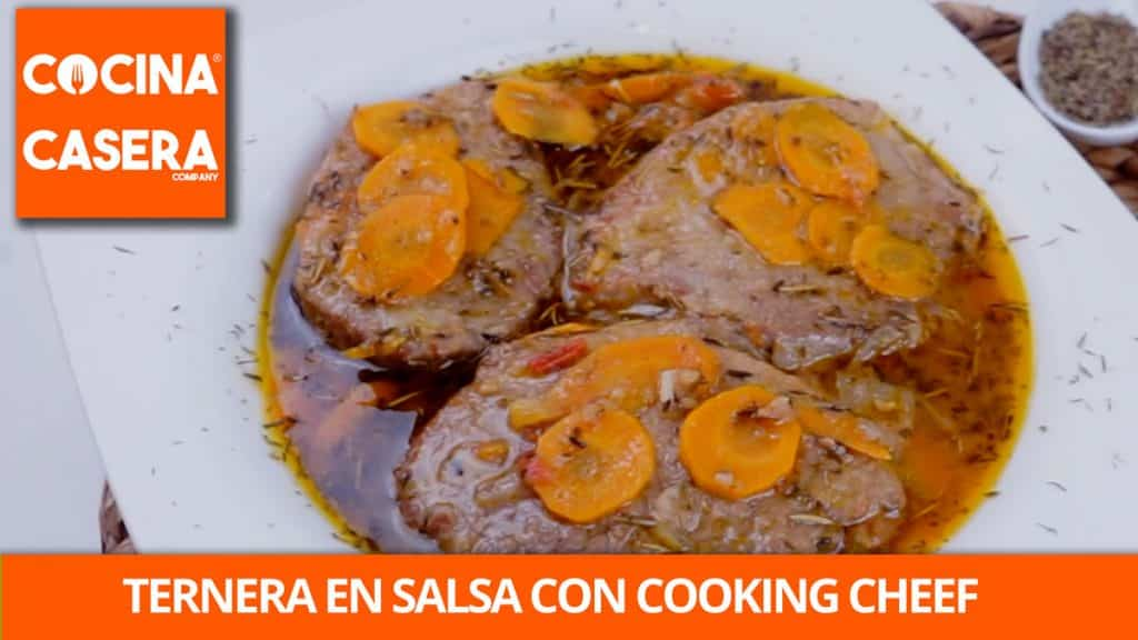 Ternera en Salsa de Verduras con Cooking Chef