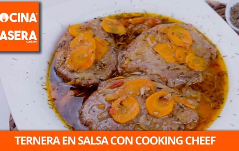 Ternera en Salsa de Verduras con Cooking Chef