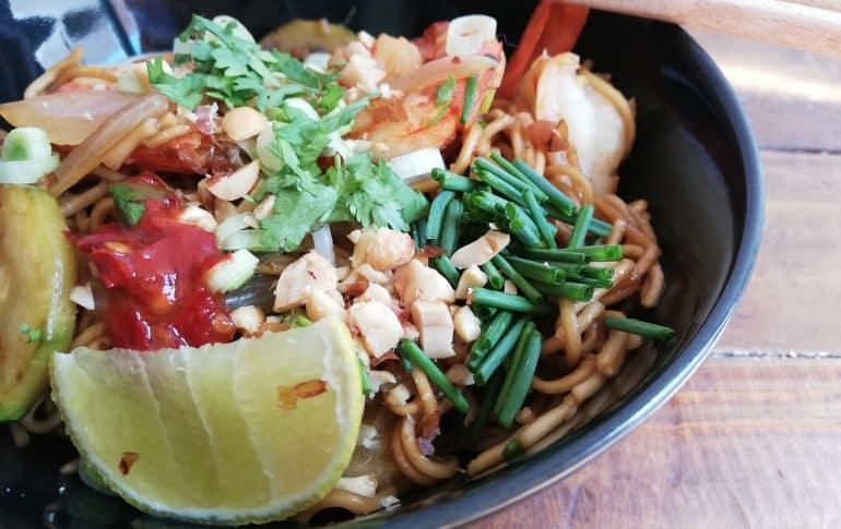 Pad Thai o Wok tailandes