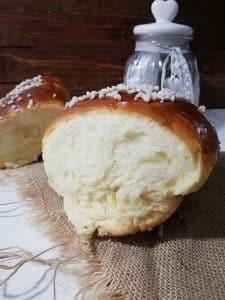 Brioche de mantequilla