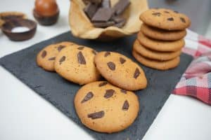 Cookies con Chocolate con Cooking Chef