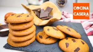 Cookies con Pepitas de Chocolate con Cooking Chef