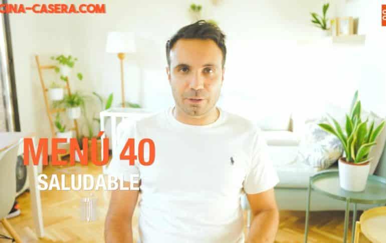 MENÚ SEMANAL SALUDABLE 40 de Septiembre/Octubre y Otoño | Menú de Cocina Casera