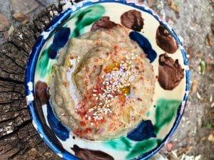 Baba ganoush, Mutabal o Hummus de Berenjenas
