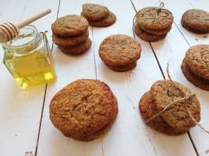 Galletas caseras de miel