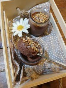 Mousse de chocolate casero sin lactosa