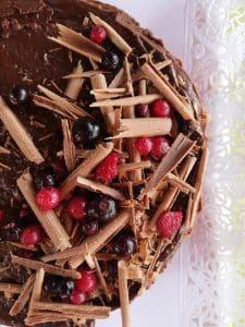 Tarta Casera de Mousse de Chocolate ¡Y sin lactosa!