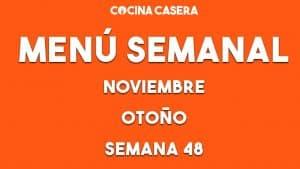 menú semanal 48 otoño noviembre