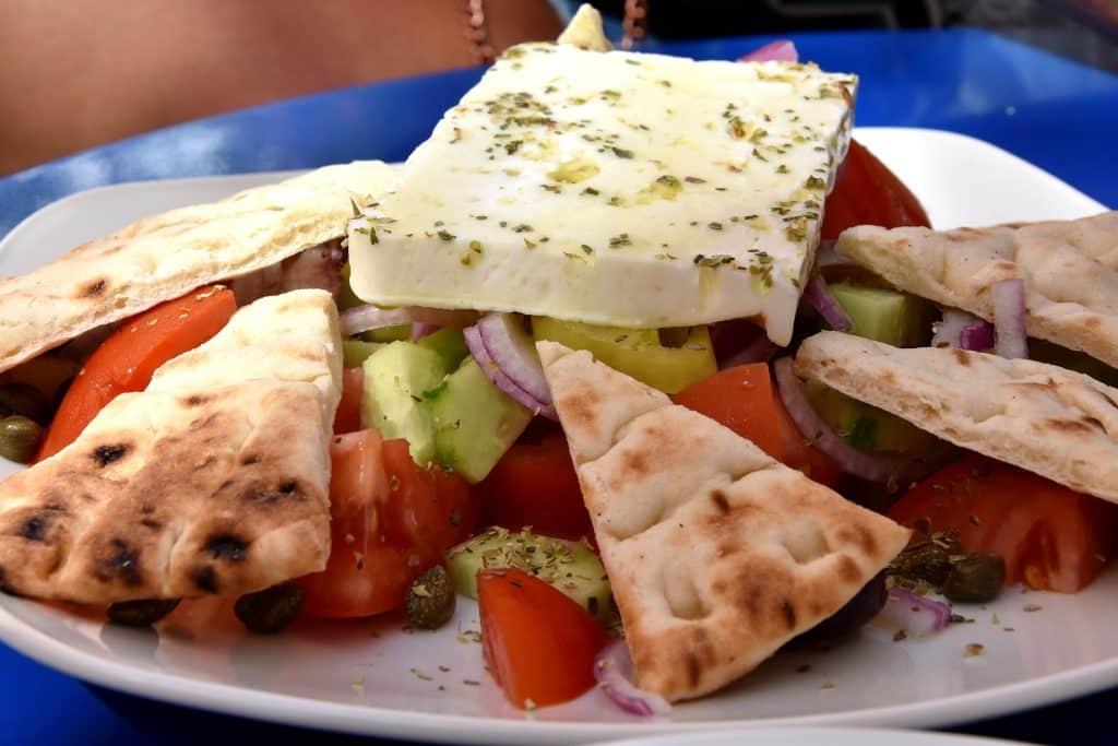 Comida típica y recetas tradicionales de Grecia