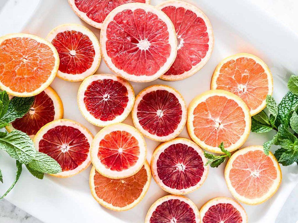 La naranja sanguina en cocina