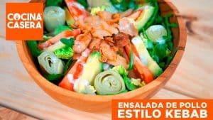 Ensalada de Pollo estilo Kebab