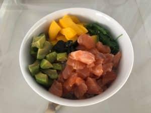 Poke-de-salmon
