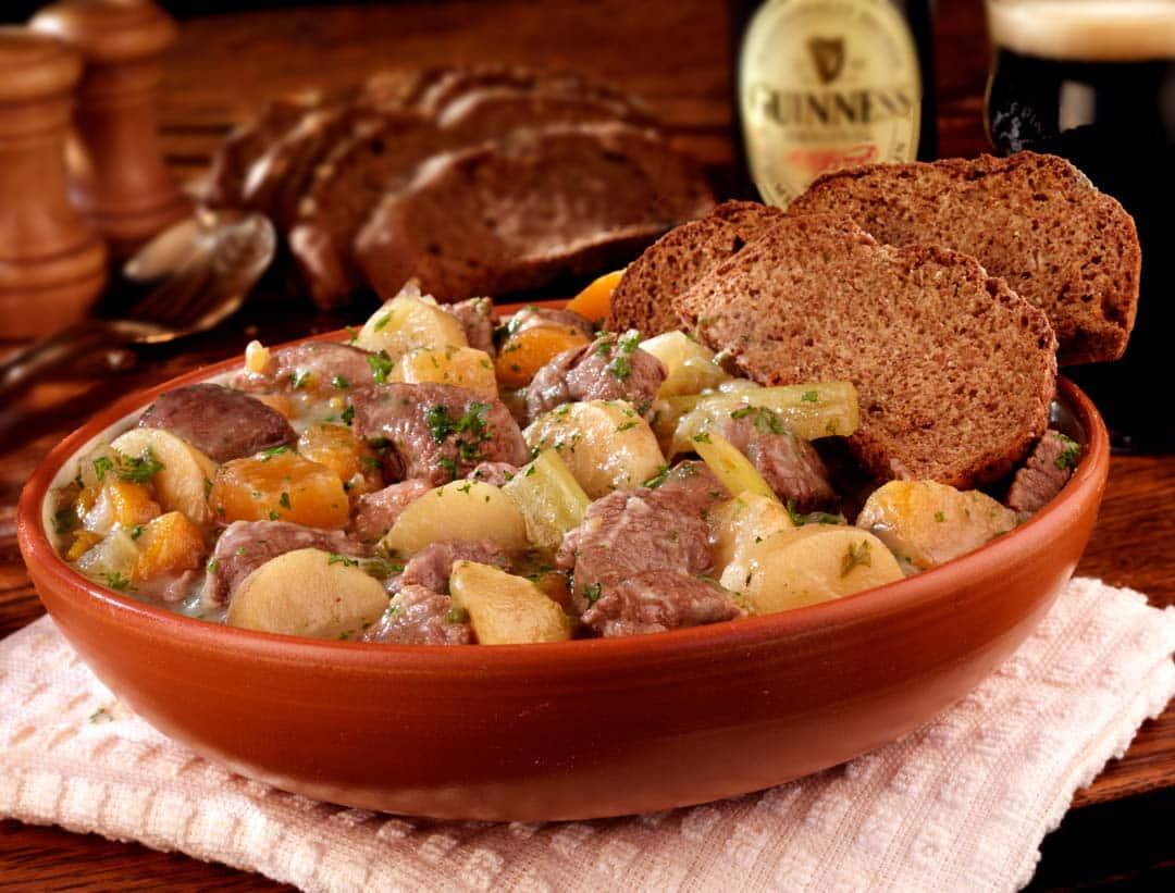Estofado irlandes, comida típica de Dublín