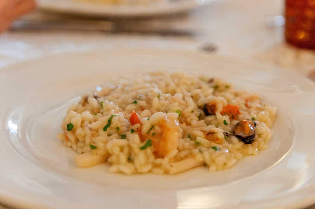 arroz con calamares de lata
