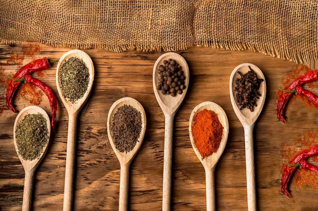 Las especias más utilizadas en cocina y sus beneficios
