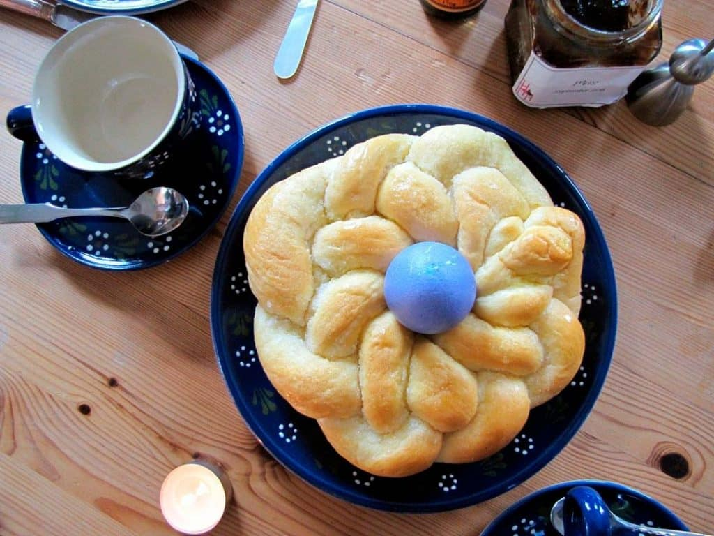El Domingo de Pascua también se celebra en la mesa