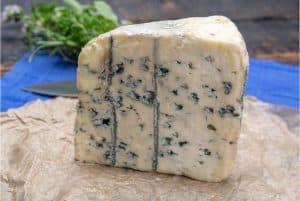 Cuña de queso cabrales