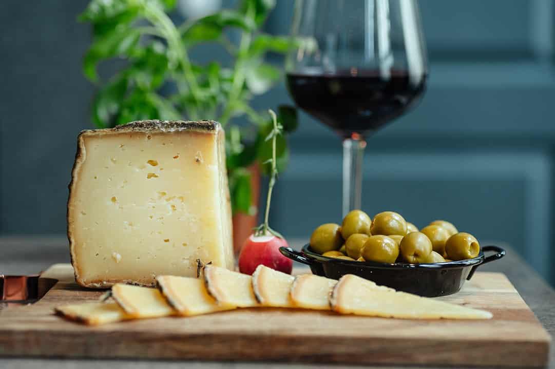 queso y vino, gastronomía manchega