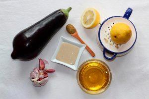 Salsa de tahini y limón
