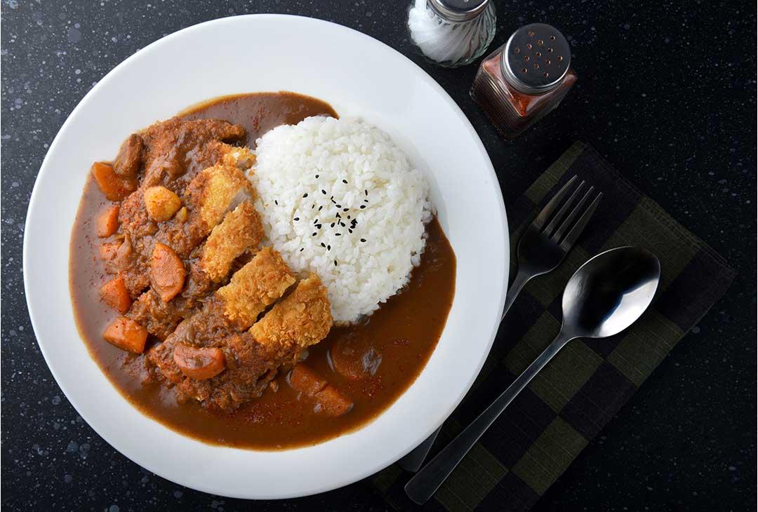 Curry Japonés con arroz
