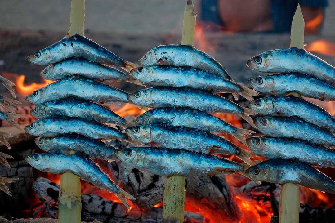 Espeto de sardinas, gastronomía de Málaga