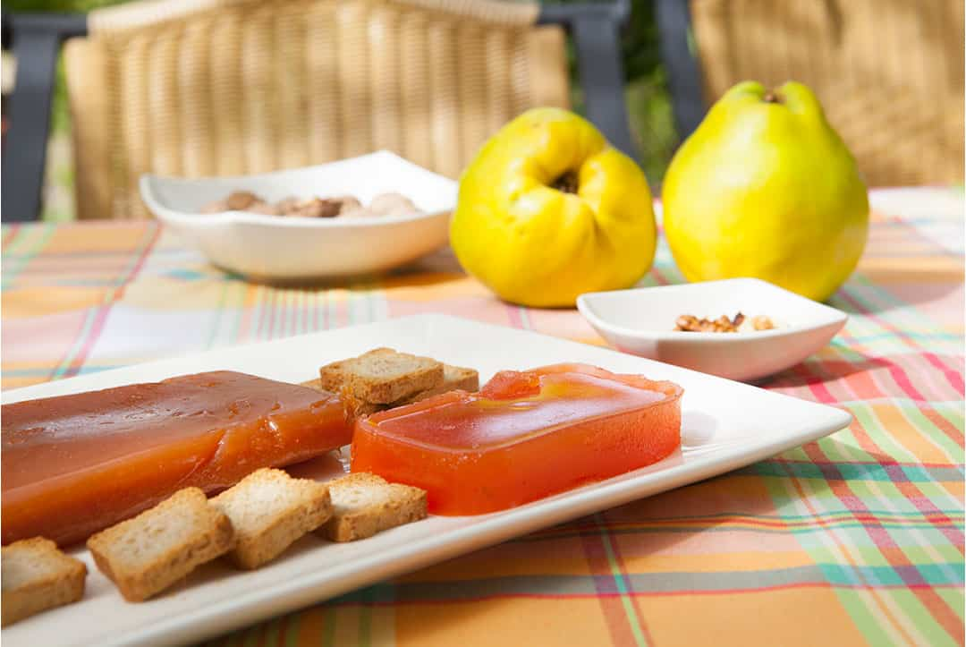 Quince from Granada on the gastronomic route