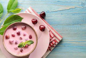 Sopa fría de cerezas. Receta húngara.