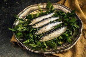 Bandeja de sardinas